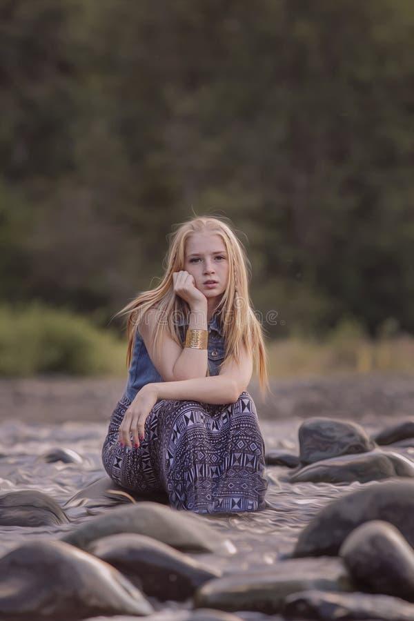 Menina adolescente fotos de stock