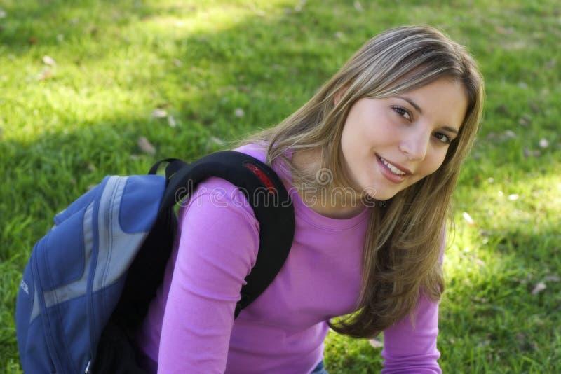 Download Menina adolescente imagem de stock. Imagem de estudante - 65017