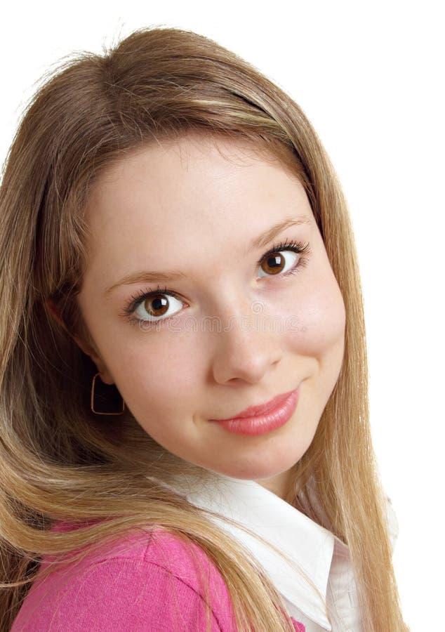 Menina adolescente bonita fotografia de stock royalty free