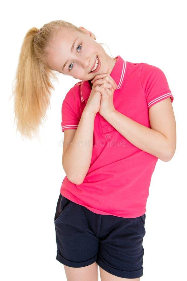 Menina adolescente bonita foto de stock royalty free