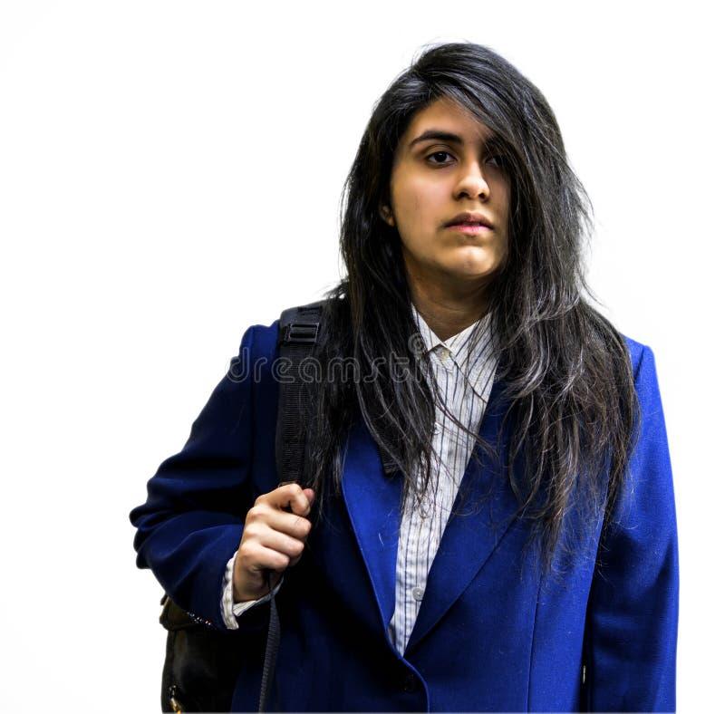 Menina adolescente de latina fotografia de stock