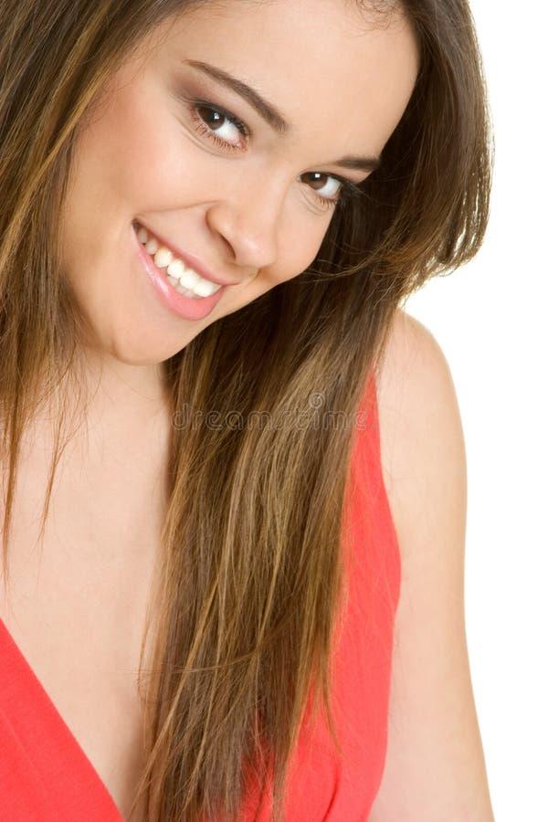 Menina adolescente de sorriso fotos de stock royalty free