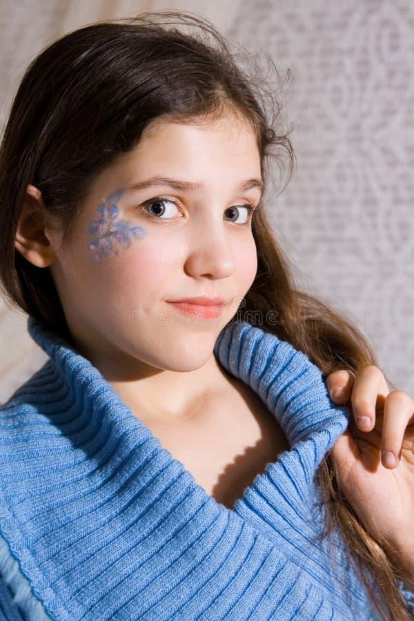 Menina adolescente encantadora imagens de stock royalty free