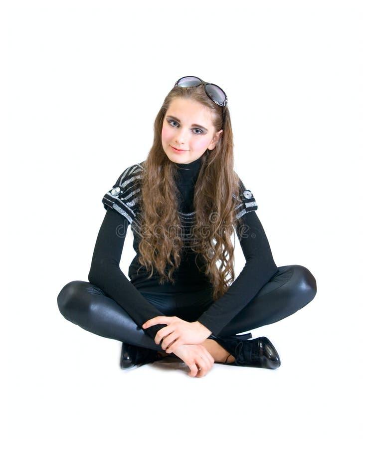 Menina adolescente encantadora fotos de stock