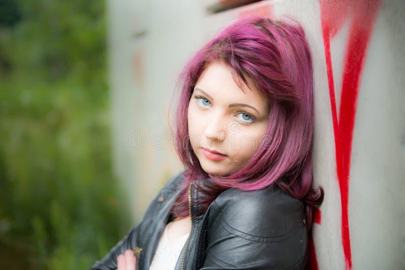 Menina adolescente triste imagens de stock