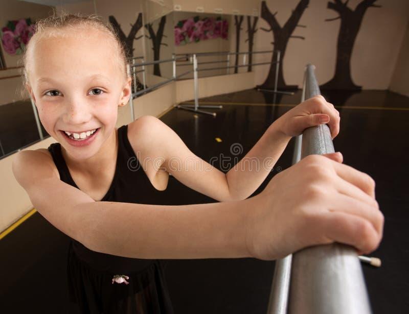 Menina adorável do bailado fotografia de stock royalty free