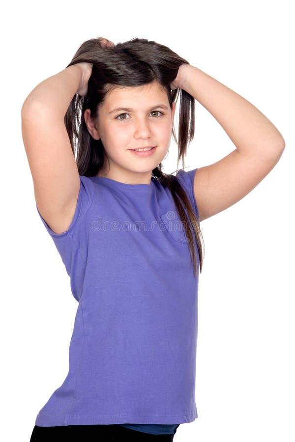 Menina adorável do preteen imagem de stock