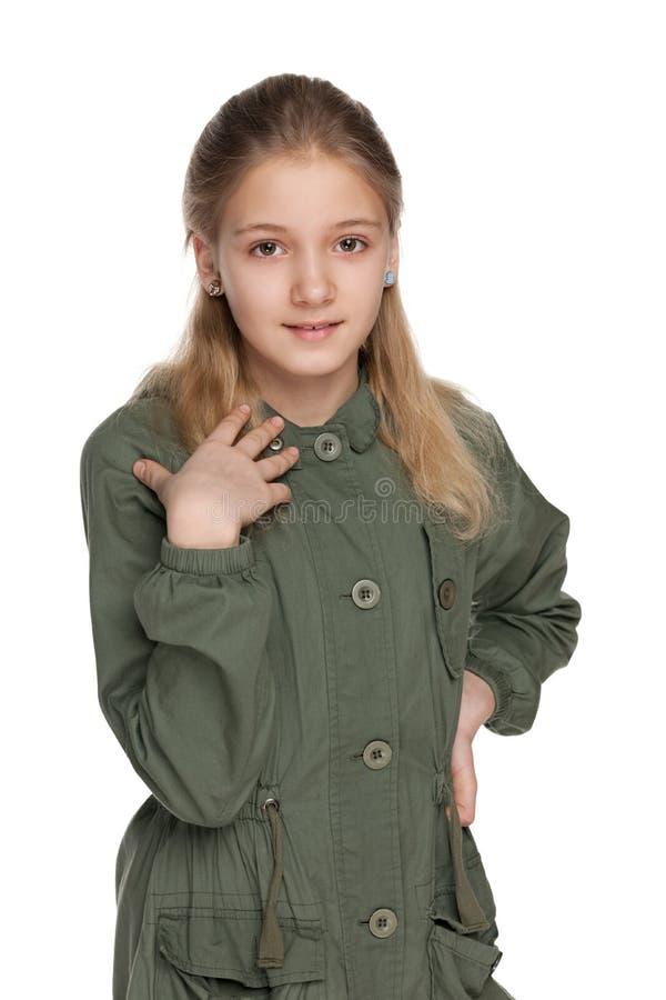 Menina adorável do preteen imagens de stock