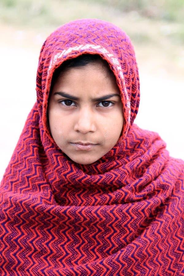 Menina afegã imagens de stock