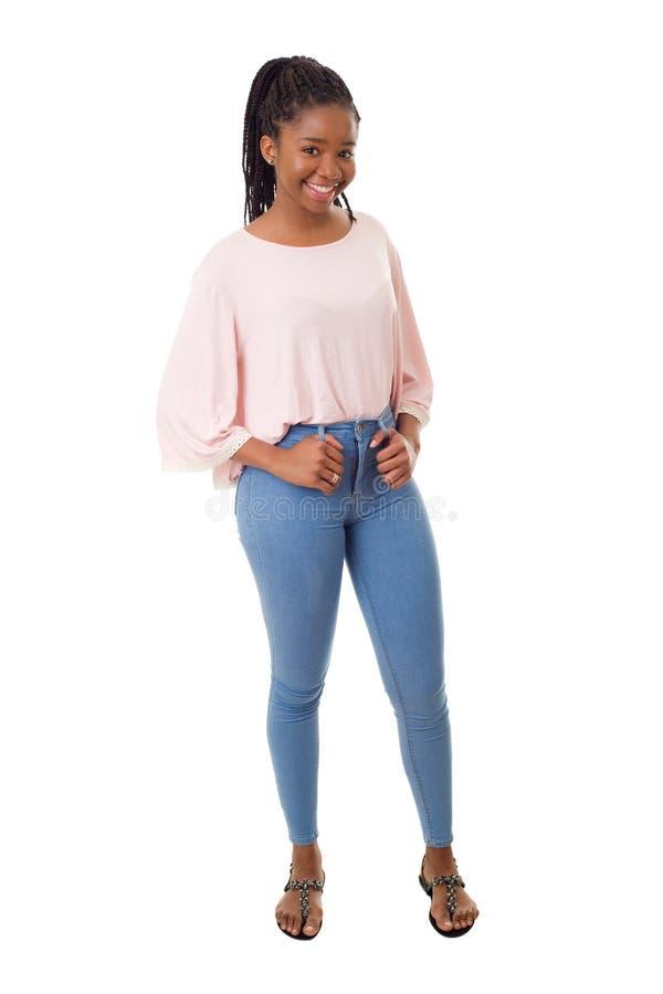 Menina africana imagem de stock royalty free