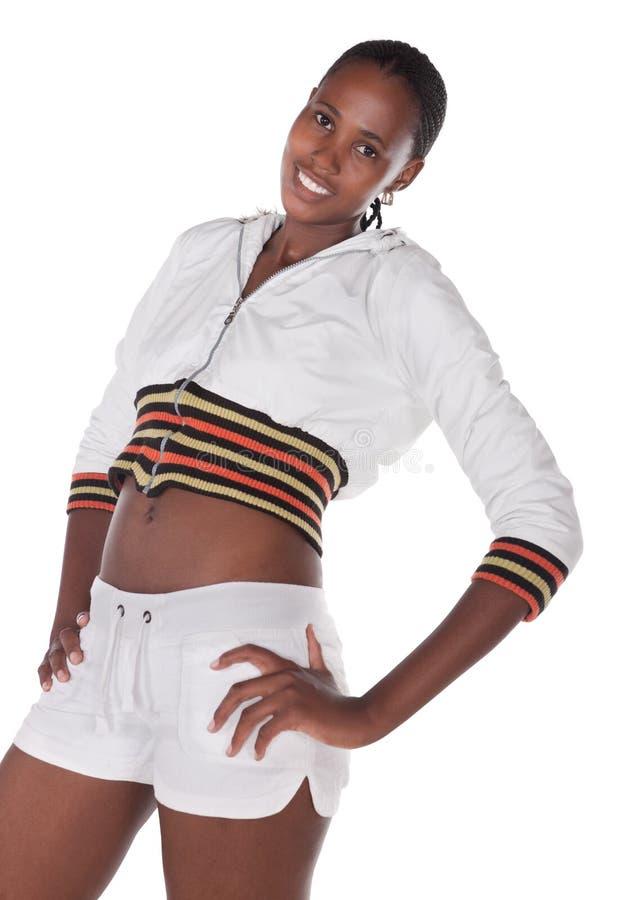 Menina africana fotografia de stock royalty free