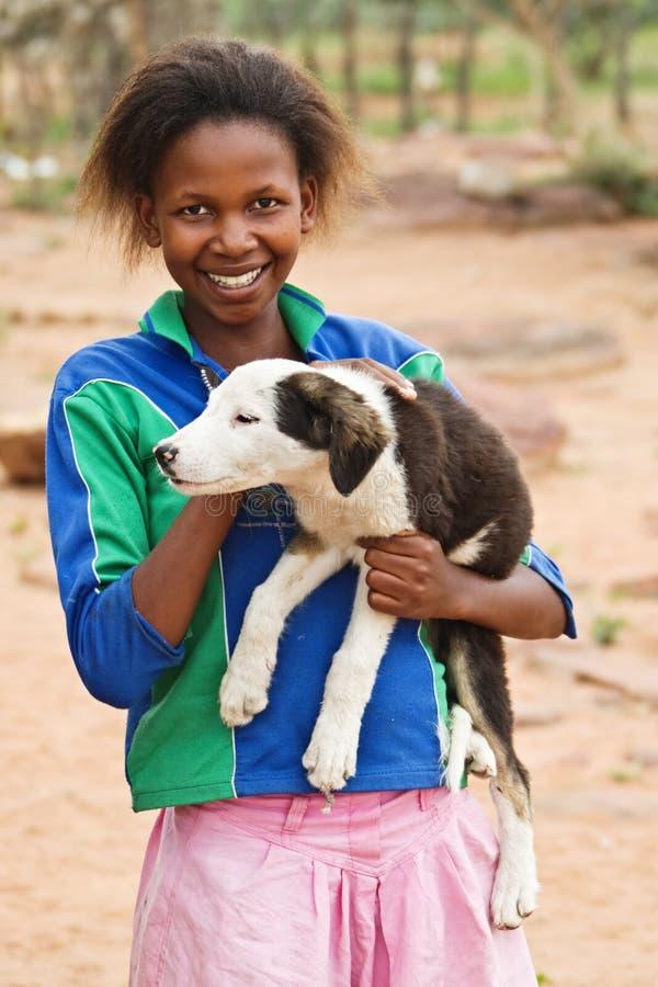 Menina africana imagens de stock royalty free