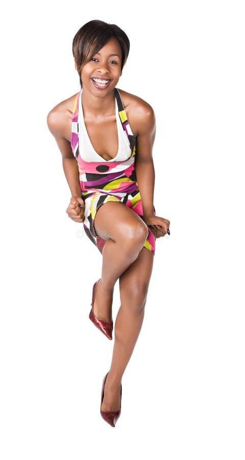 Menina africana imagens de stock