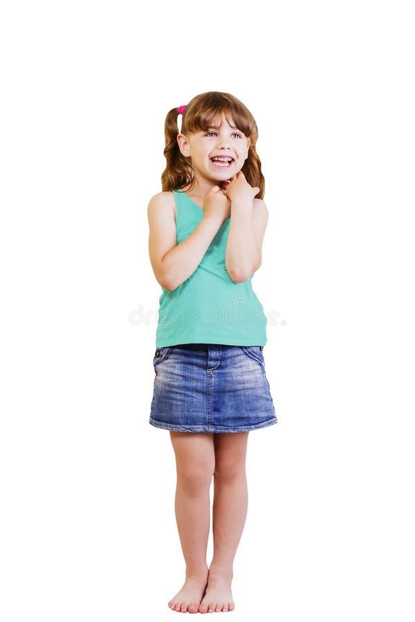 Menina 5-6 anos foto de stock royalty free