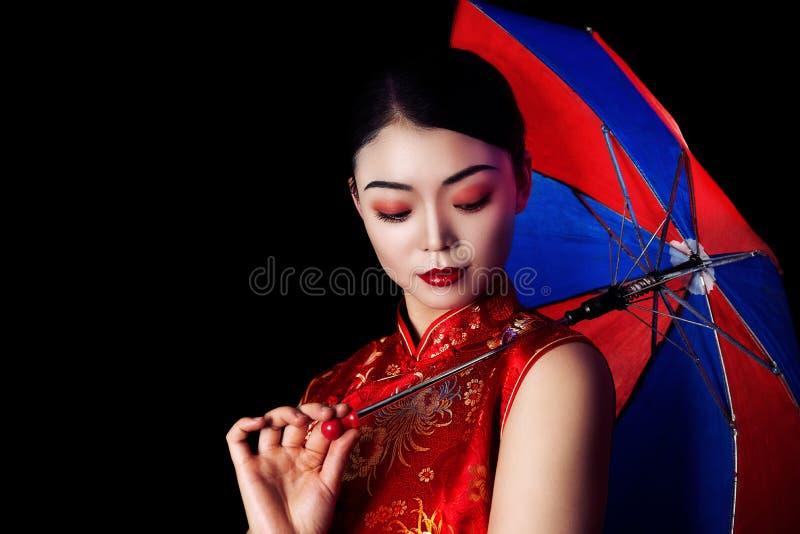 Menina asiática imagem de stock