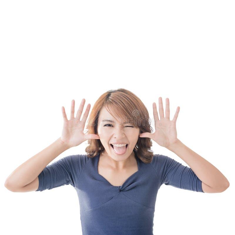 Menina asiática adorável imagens de stock