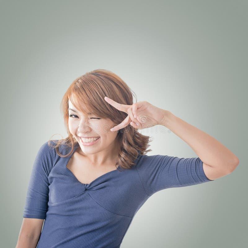 Menina asiática adorável imagens de stock royalty free