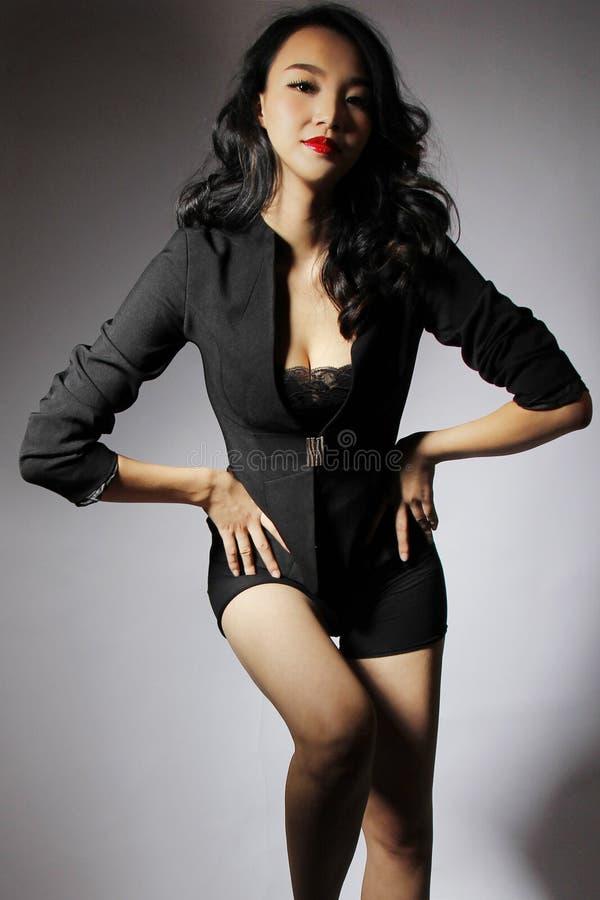 Menina asiática bonita foto de stock royalty free