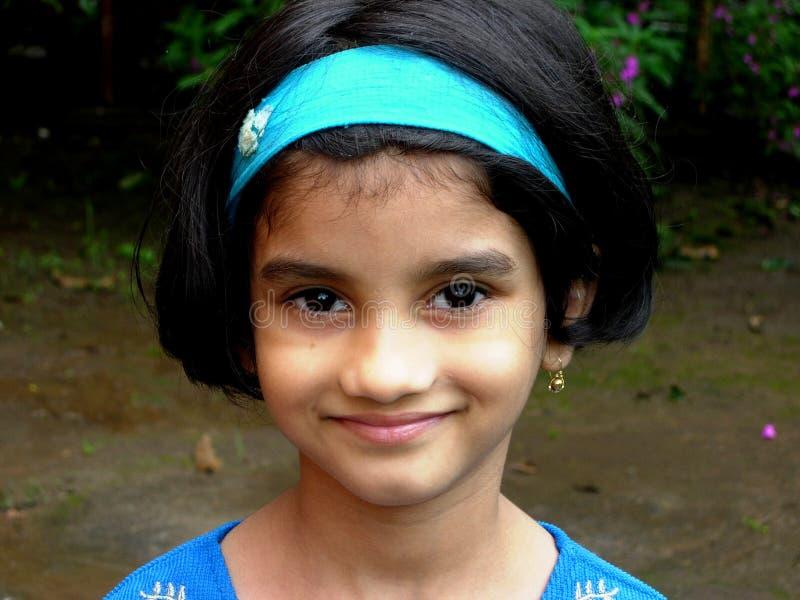 Menina asiática feliz foto de stock royalty free