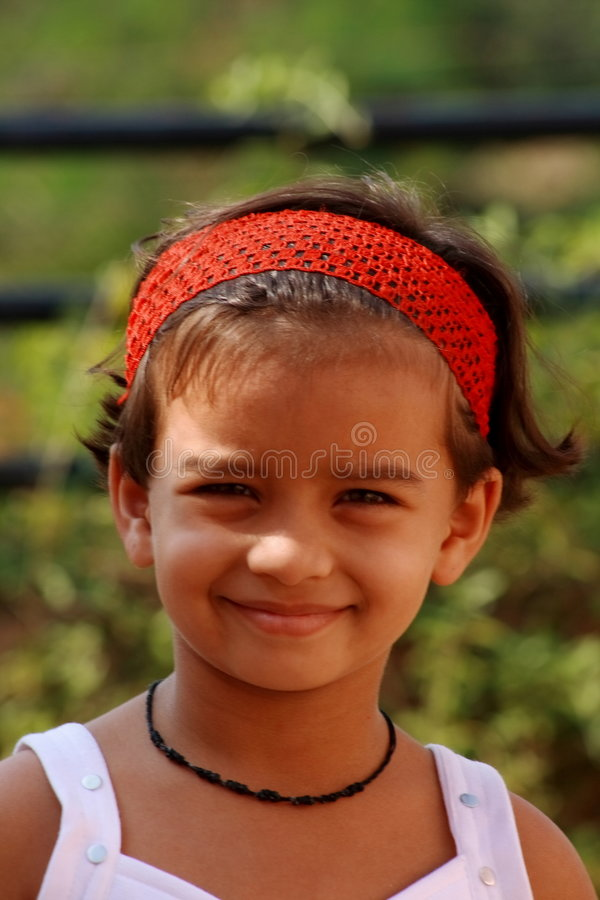 Menina asiática feliz foto de stock