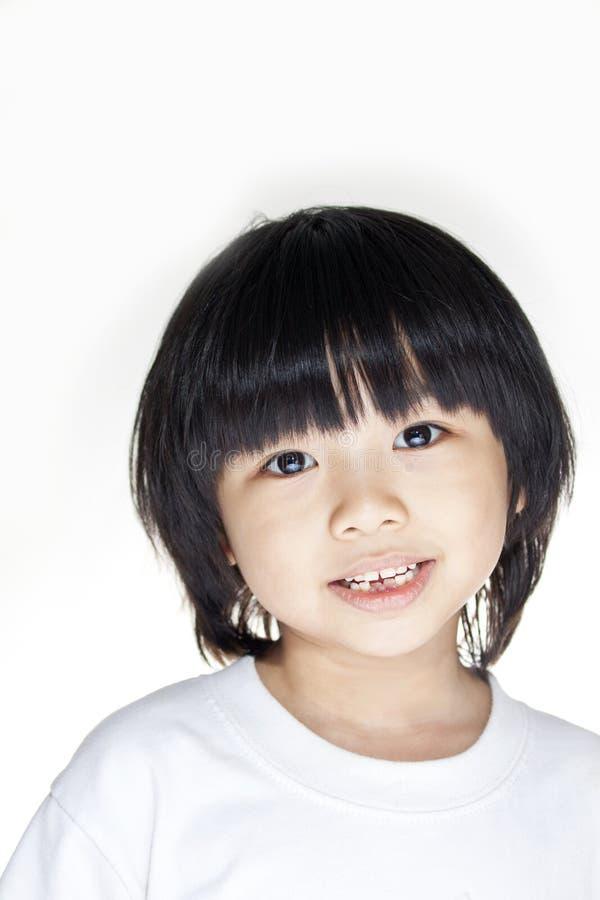 Menina asiática nova feliz imagens de stock royalty free