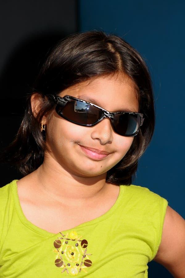 Menina asiática nova feliz foto de stock royalty free