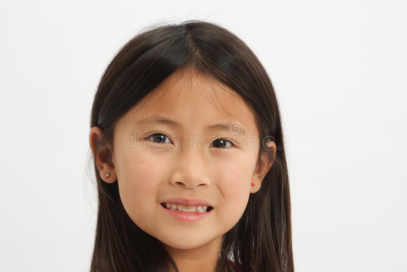 Menina asiática pequena 1 fotografia de stock