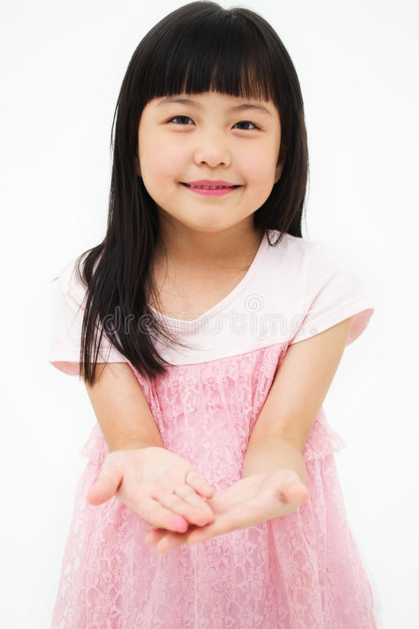 O retrato da menina asiática imagem de stock royalty free