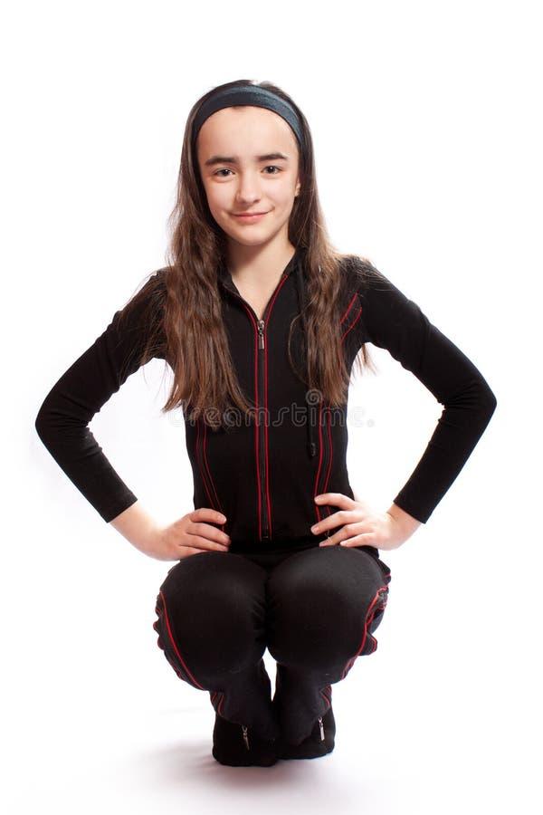 Menina atlética imagem de stock royalty free