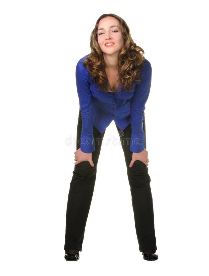 Download A Menina Atrativa Nas Calças Imagem de Stock - Imagem de cute, pessoa: 12807407