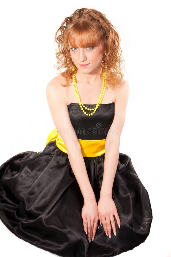 A menina bonita fotografia de stock royalty free