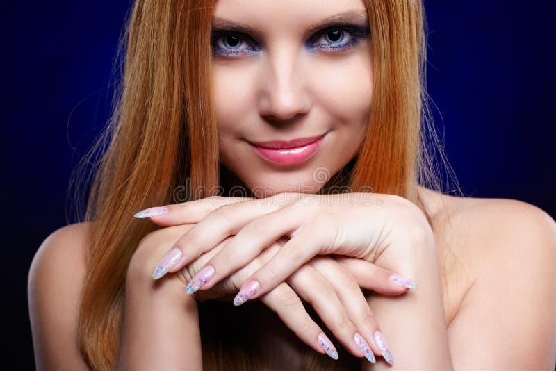 Menina bonita do redhead fotos de stock royalty free