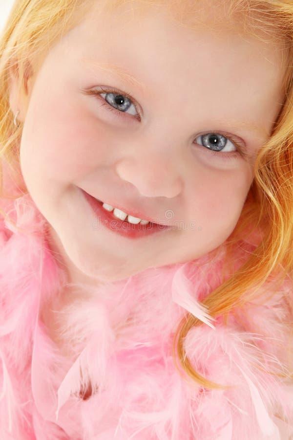 Menina bonita dos anos de idade 3 fotografia de stock