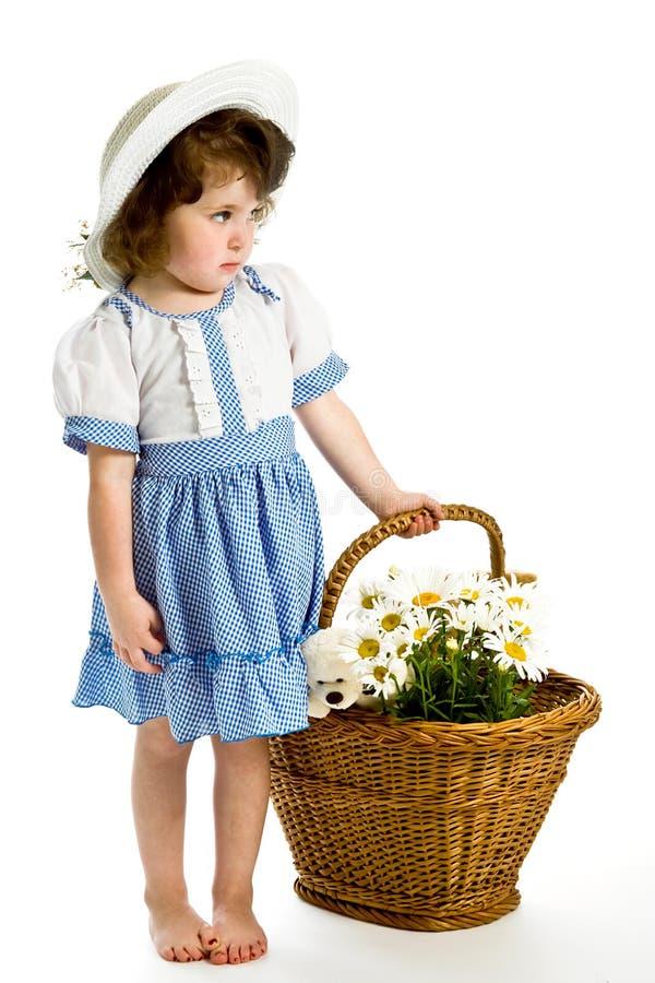 Menina bonita pequena fotografia de stock royalty free