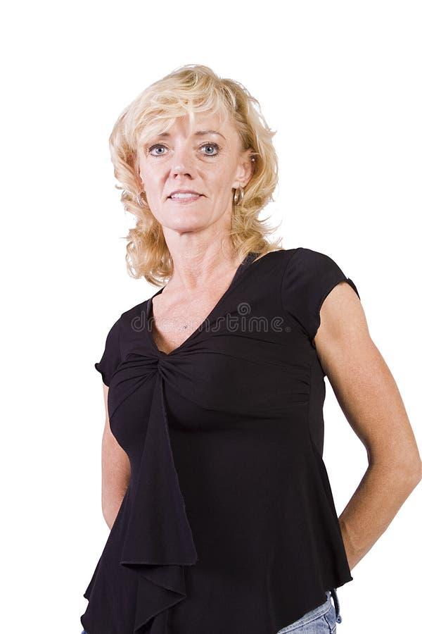 Download Menina Bonita Que Está Acima Imagem de Stock - Imagem de retrato, elegante: 16864971