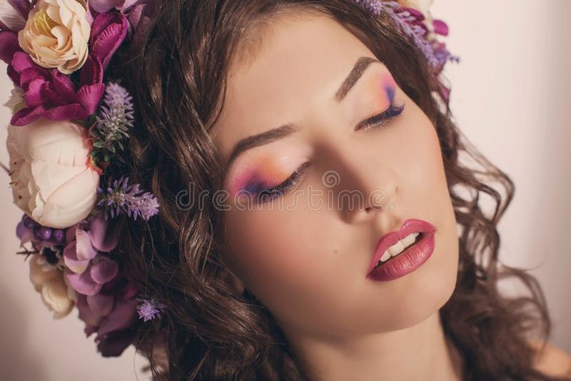 Menina bonita ucraniana fotografia de stock royalty free