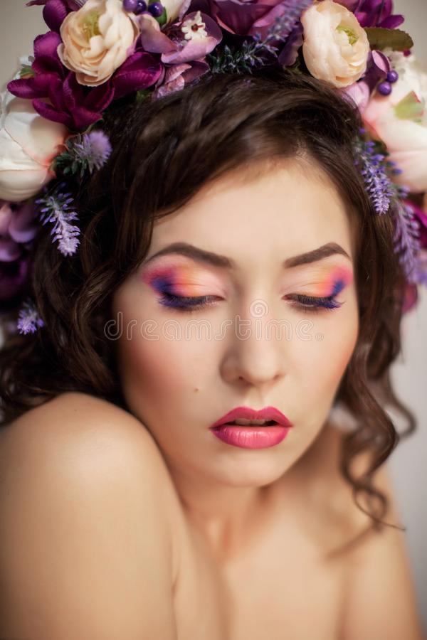 Menina bonita ucraniana foto de stock royalty free