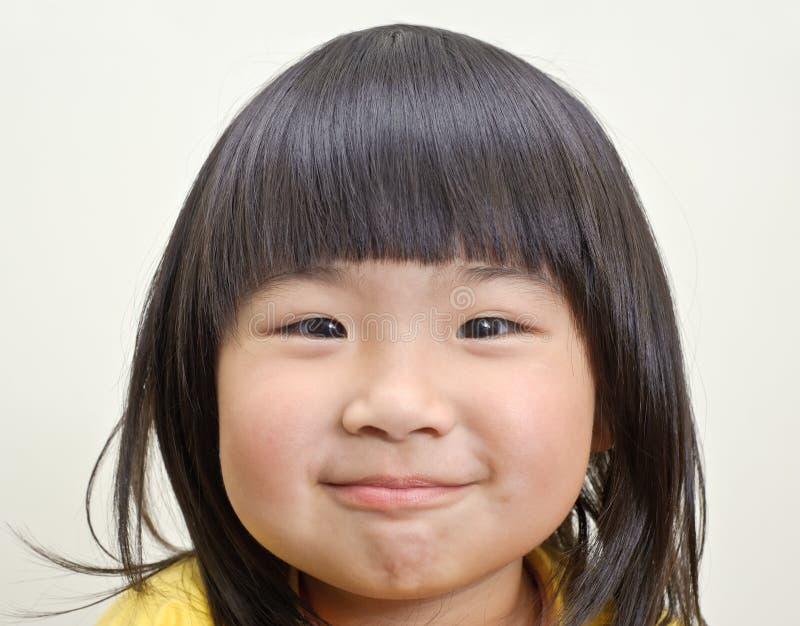 Menina bonito asiática imagem de stock
