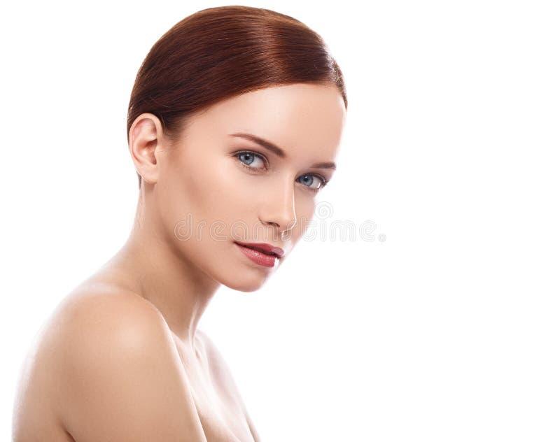 Menina bonito com cara bonita imagem de stock royalty free