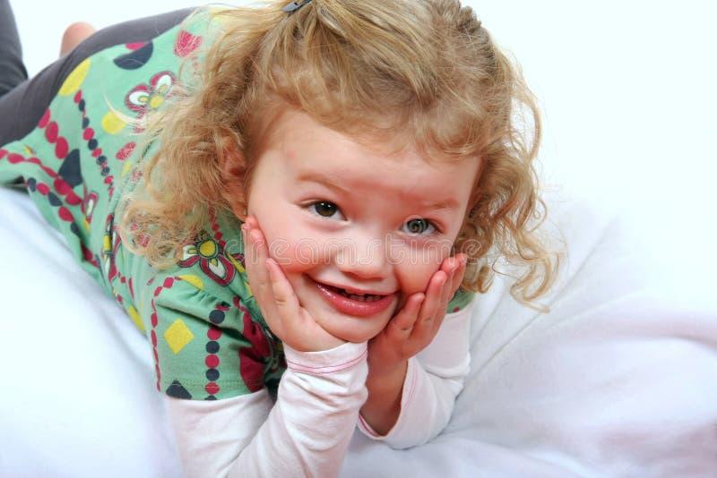 Menina bonito do Preschooler imagem de stock royalty free