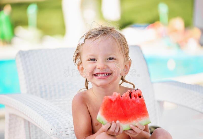 Menina caucasiano dois anos velha imagens de stock royalty free