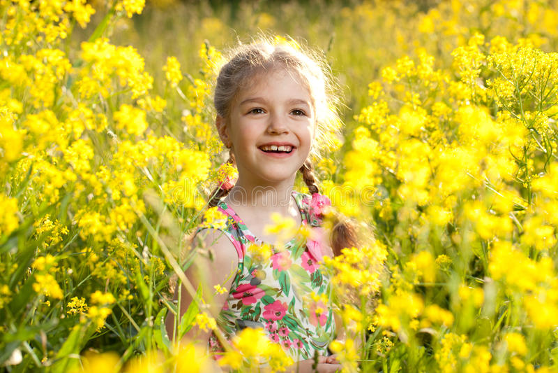 Menina Charming imagens de stock royalty free