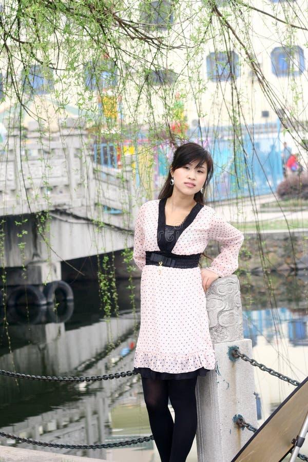 Menina chinesa fotografia de stock