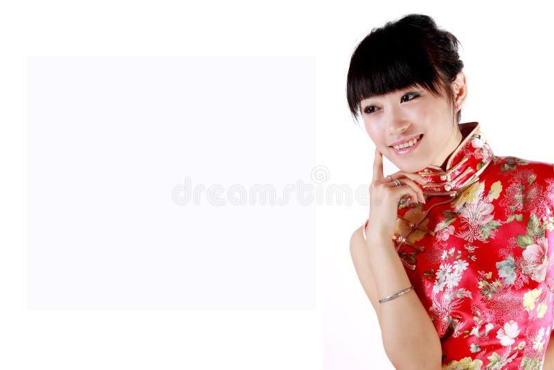 Menina chinesa foto de stock