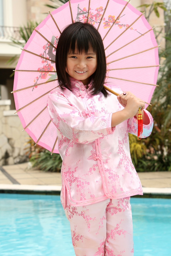 Menina chinesa asiática fotos de stock royalty free
