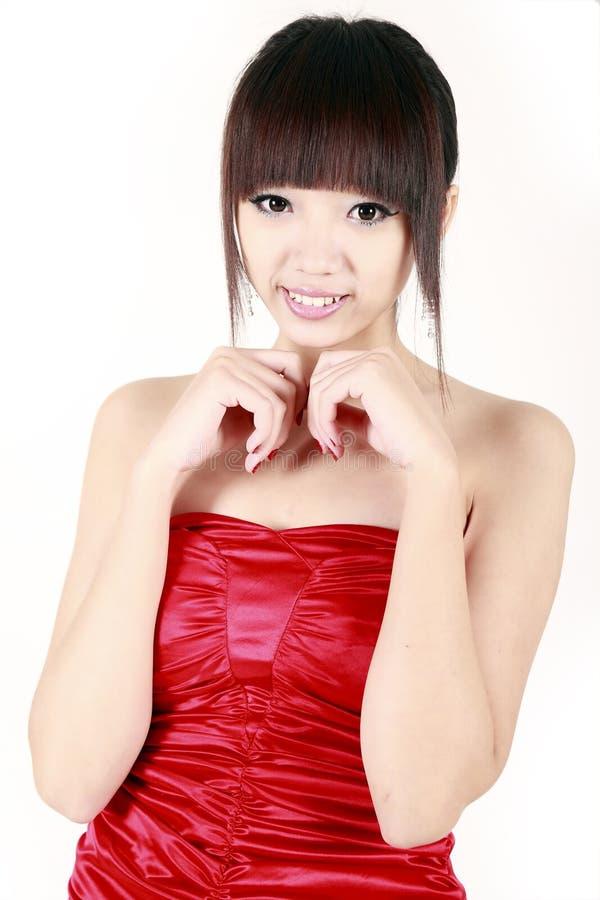 Menina chinesa pura imagem de stock