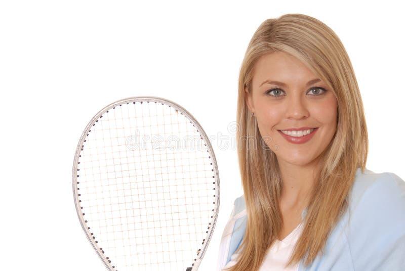 Menina cinco do tênis imagem de stock royalty free