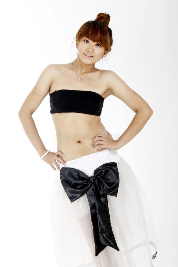 Menina com forma 'sexy'. foto de stock royalty free