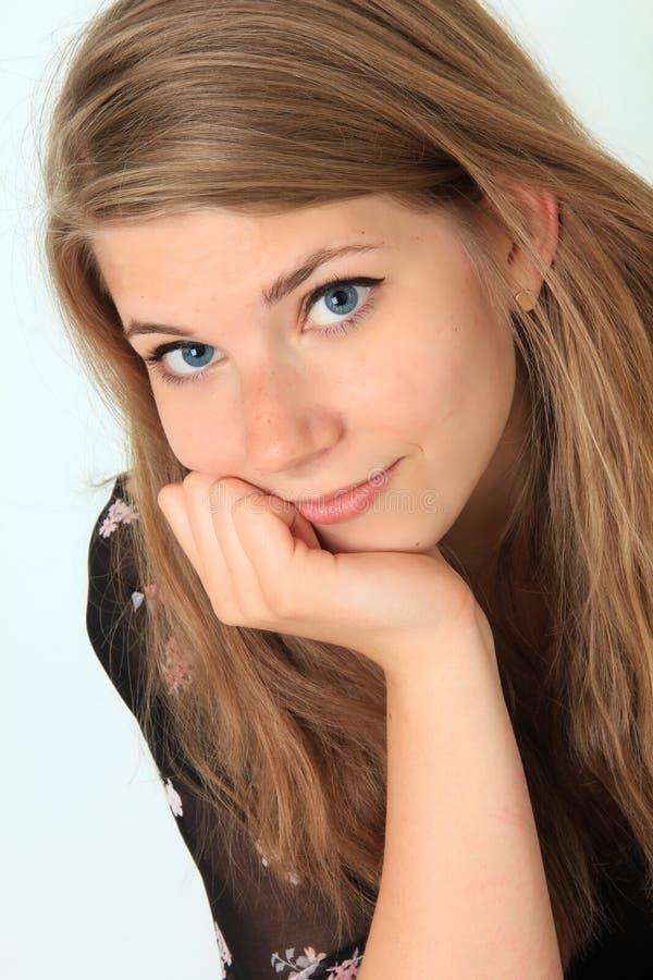 Menina crioula do adolescente fotos de stock royalty free