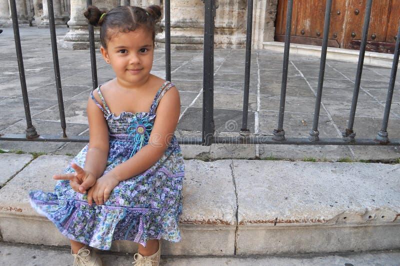 Menina cubana fotografia de stock royalty free